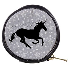 Unicorn On Starry Background Mini Makeup Case by StuffOrSomething