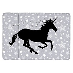 Unicorn On Starry Background Samsung Galaxy Tab 8 9  P7300 Flip Case