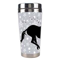 Unicorn On Starry Background Stainless Steel Travel Tumbler by StuffOrSomething