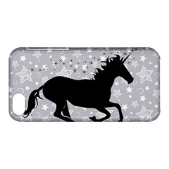 Unicorn On Starry Background Apple Iphone 5c Hardshell Case by StuffOrSomething