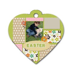 Easter By Easter   Dog Tag Heart (two Sides)   4y6cgcdxt3k6   Www Artscow Com Back