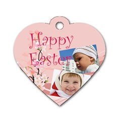 Easter By Easter   Dog Tag Heart (two Sides)   Zrbc1hfoz3na   Www Artscow Com Back