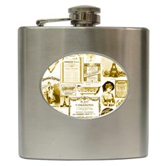 Parisgoldentower Hip Flask by misskittys
