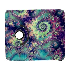 Violet Teal Sea Shells, Abstract Underwater Forest Samsung Galaxy S  Iii Flip 360 Case by DianeClancy