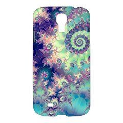 Violet Teal Sea Shells, Abstract Underwater Forest Samsung Galaxy S4 I9500/i9505 Hardshell Case by DianeClancy