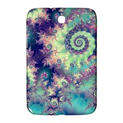 Violet Teal Sea Shells, Abstract Underwater Forest Samsung Galaxy Note 8 0 N5100 Hardshell Case  by DianeClancy