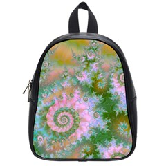 Rose Forest Green, Abstract Swirl Dance School Bag (small) by DianeClancy