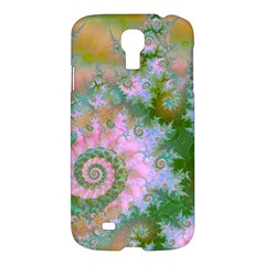 Rose Forest Green, Abstract Swirl Dance Samsung Galaxy S4 I9500/i9505 Hardshell Case by DianeClancy