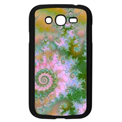 Rose Forest Green, Abstract Swirl Dance Samsung Galaxy Grand Duos I9082 Case (black) by DianeClancy