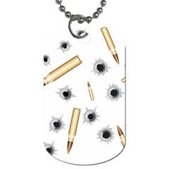 Bulletsnbulletholes Dog Tag (Two-sided)