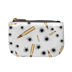 Bulletsnbulletholes Coin Change Purse