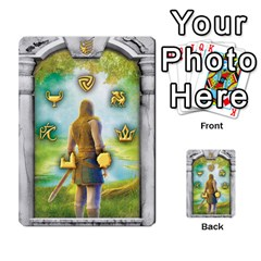 Runebound Tales   Questing By Fantastic Diversions / Ofgi   Multi Purpose Cards (rectangle)   8webbgko2ybw   Www Artscow Com Back 9