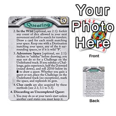 Runebound Tales   Questing By Fantastic Diversions / Ofgi   Multi Purpose Cards (rectangle)   8webbgko2ybw   Www Artscow Com Front 3