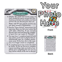 Runebound Tales   Questing By Fantastic Diversions / Ofgi   Multi Purpose Cards (rectangle)   8webbgko2ybw   Www Artscow Com Front 4