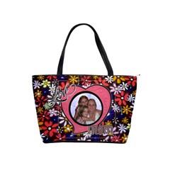 Mom s Shoulder Handbag By Joy Johns   Classic Shoulder Handbag   2g4bj4llqxnh   Www Artscow Com Front