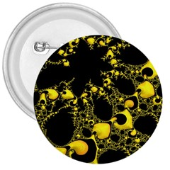 Special Fractal 04 Yellow 3  Button by ImpressiveMoments