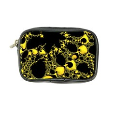 Special Fractal 04 Yellow Coin Purse by ImpressiveMoments