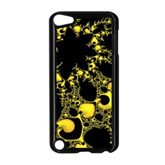 Special Fractal 04 Yellow Apple Ipod Touch 5 Case (black) by ImpressiveMoments