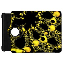 Special Fractal 04 Yellow Kindle Fire Hd 7  (1st Gen) Flip 360 Case by ImpressiveMoments