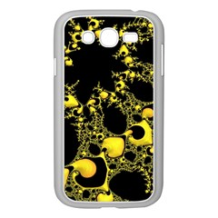 Special Fractal 04 Yellow Samsung Galaxy Grand Duos I9082 Case (white) by ImpressiveMoments