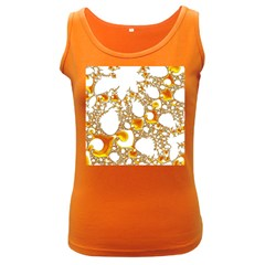 Special Fractal 04 Orange Women s Tank Top (dark Colored) by ImpressiveMoments