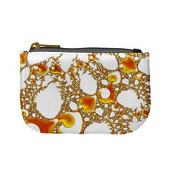 Special Fractal 04 Orange Coin Change Purse by ImpressiveMoments