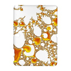 Special Fractal 04 Orange Samsung Galaxy Note 10 1 (p600) Hardshell Case by ImpressiveMoments
