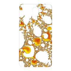 Special Fractal 04 Orange Samsung Galaxy Note 3 N9005 Hardshell Back Case