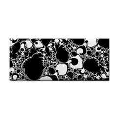 Special Fractal 04 B&w Hand Towel by ImpressiveMoments