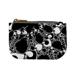 Special Fractal 04 B&w Coin Change Purse by ImpressiveMoments