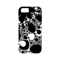 Special Fractal 04 B&w Apple Iphone 5 Classic Hardshell Case (pc+silicone) by ImpressiveMoments
