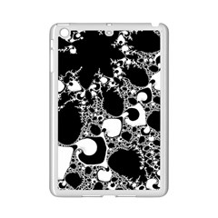 Special Fractal 04 B&w Apple Ipad Mini 2 Case (white) by ImpressiveMoments