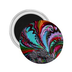 Special Fractal 02 Red 2 25  Button Magnet by ImpressiveMoments