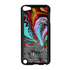 Special Fractal 02 Red Apple Ipod Touch 5 Case (black) by ImpressiveMoments
