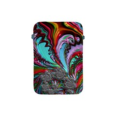 Special Fractal 02 Red Apple Ipad Mini Protective Sleeve by ImpressiveMoments