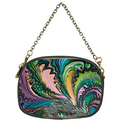 Special Fractal 02 Purple Chain Purse (two Sided)  by ImpressiveMoments