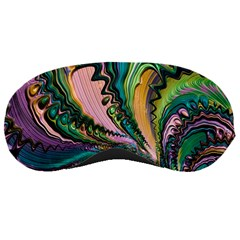Special Fractal 02 Purple Sleeping Mask by ImpressiveMoments
