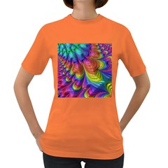 Radiant Sunday Neon Women s T Shirt (colored) by ImpressiveMoments