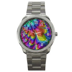 Radiant Sunday Neon Sport Metal Watch by ImpressiveMoments