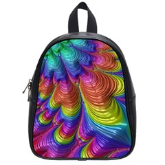 Radiant Sunday Neon School Bag (small) by ImpressiveMoments