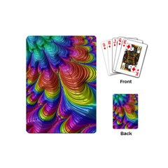 Radiant Sunday Neon Playing Cards (mini) by ImpressiveMoments