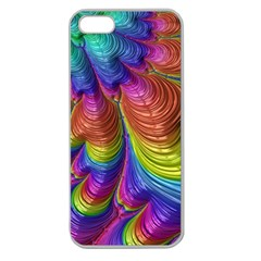 Radiant Sunday Neon Apple Seamless Iphone 5 Case (clear) by ImpressiveMoments