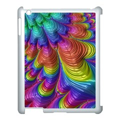Radiant Sunday Neon Apple Ipad 3/4 Case (white) by ImpressiveMoments