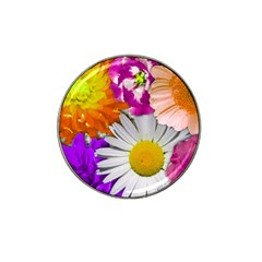 Lovely Flowers,purple Golf Ball Marker 10 Pack (for Hat Clip) by ImpressiveMoments