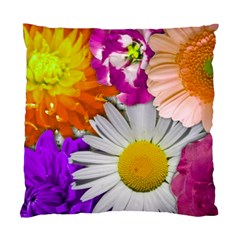 Lovely Flowers,purple Cushion Case (single Sided)  by ImpressiveMoments