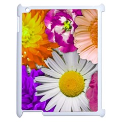 Lovely Flowers,purple Apple Ipad 2 Case (white) by ImpressiveMoments