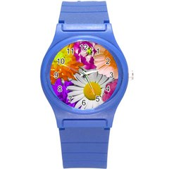 Lovely Flowers,purple Plastic Sport Watch (small) by ImpressiveMoments
