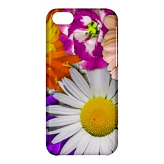 Lovely Flowers,purple Apple Iphone 5c Hardshell Case by ImpressiveMoments
