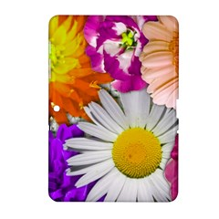 Lovely Flowers,purple Samsung Galaxy Tab 2 (10 1 ) P5100 Hardshell Case  by ImpressiveMoments