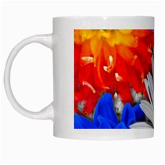 Lovely Flowers, Blue White Coffee Mug by ImpressiveMoments